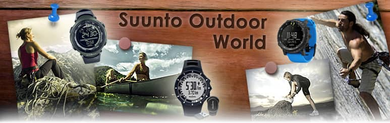 Suunto Outdoor, Armbandcomputer, Multifunktionsuhren und PODs