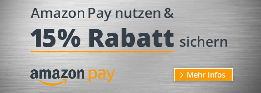 Banner Luftbehandlung / Amazon Pay