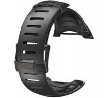 Suunto Core Standard Elastomer-Armband ganz schwarz
