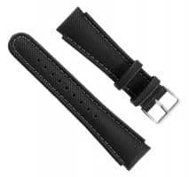 Suunto X-Lander/Yachtsman Synthetik Armband-Set schwarz