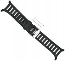 Suunto T-Serie Elastomer-Armband medium schwarz