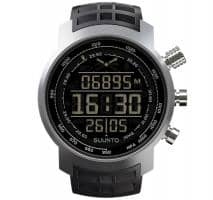 Versandrückläufer neuwertig Suunto Elementum Terra Black Rubber/Dunkles Display Armbandcomputer