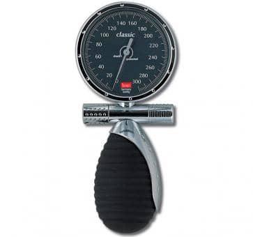 boso classic Mechanisches Blutdruckmessgerät mit Klettenmanschette