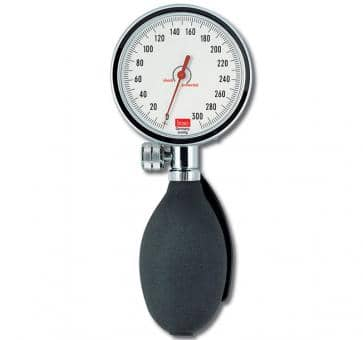 boso manuell Ø 48 mm mit Klettenmanschette, mechanisches Blutdruckmessgerät