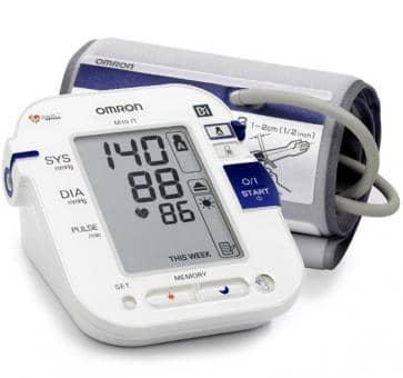 OMRON M10-IT (HEM-7080IT-E) Oberarm-Blutdruckmessgerät mit PC Schnittstelle und Netzteil