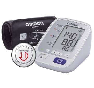 OMRON M400 (HEM-7134-D) mit Intelli Wrap Manschette Oberarm-Blutdruckmessgerät