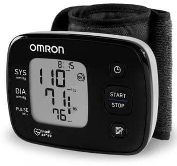 OMRON HG3 Handgelenk-Blutdruckmessgerät (HEM-6140-D)