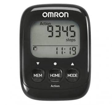 OMRON Walking Style IV Schrittzähler schwarz (HJ-325-EK)