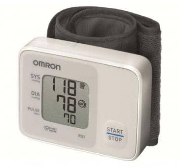 Versandrückläufer OMRON RS1 (HEM-6120-D) Handgelenk-Blutdruckmessgerät