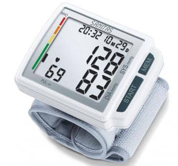 Versandrückläufer Sanitas SBC 41 Handgelenk-Blutdruckmessgerät