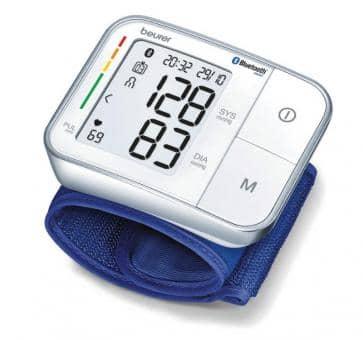 Versandrückläufer beurer BC 57 Bluetooth Handgelenk-Blutdruckmessgerät
