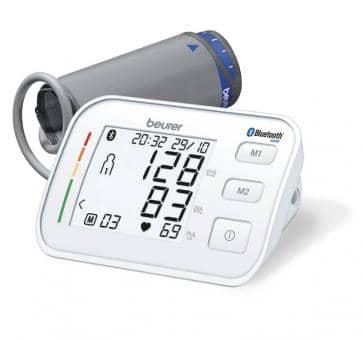 beurer BM 57 Bluetooth Oberarm-Blutdruckmessgerät