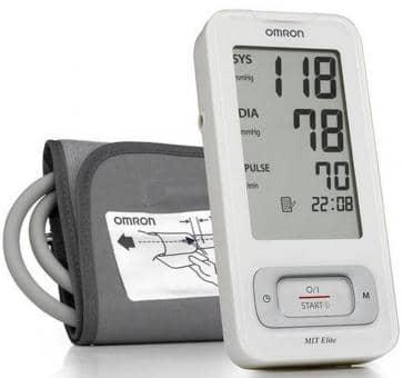 OMRON MIT-Elite (HEM-7300-WE) Oberarm-Blutdruckmessgerät