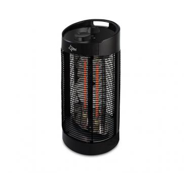 Suntec Heat Ray Carbon Tower 1200 OSC Carbon-Heizstrahler und Ventilator