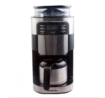 Versandrückläufer Suntec KAM-8274 design Mahlwerk-Filterkaffeemaschine