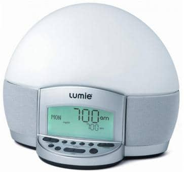 Lumie Bodyclock 300 ELITE Lichtwecker mit MP3 und Radio