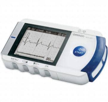 OMRON HCG-801E Mobiles Einkanal EKG-Gerät