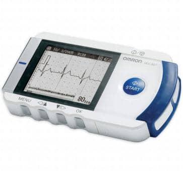 OMRON HCG-801E Basis Mobiles Einkanal EKG-Gerät
