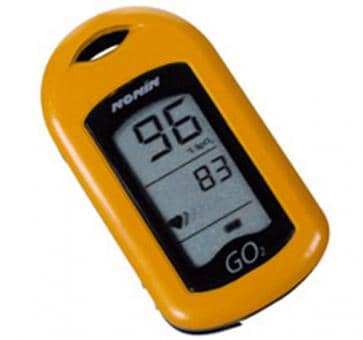 NONIN GO2 9570 Fingerpulsoximeter orange