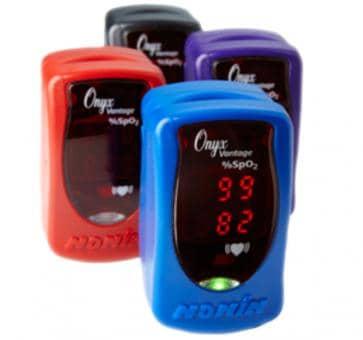 NONIN ONYX Vantage 9590 Fingerpulsoximeter blau