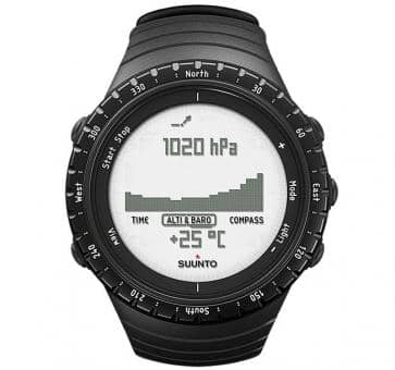 Suunto Core Regular Black Armbandcomputer