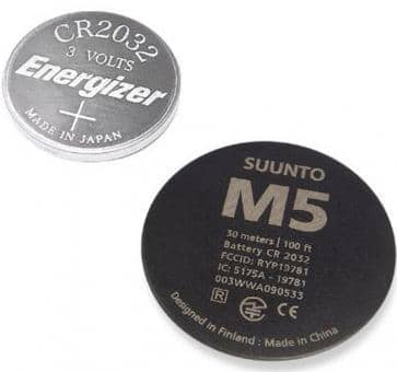 Suunto M5 Batterie-Set