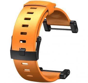 Suunto Core Elastomer-Armband orange mit Bügel
