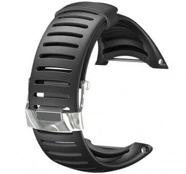 Versandrückläufer Suunto Core Leichtes Elastomer-Armband schwarz