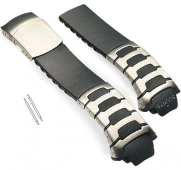 Suunto Observer St Armband-Set Stahl/Elastomer