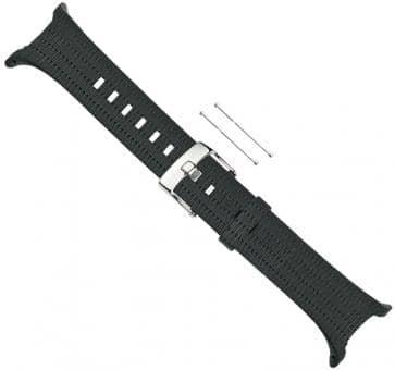 Suunto T-Serie Black Pattern Elastomer-Armband