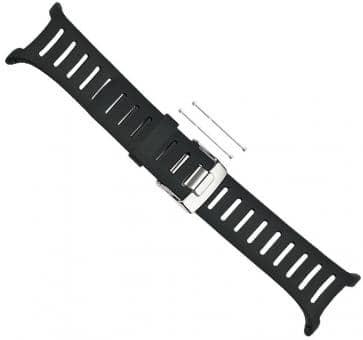 Suunto T-Serie Elastomer-Armband large schwarz