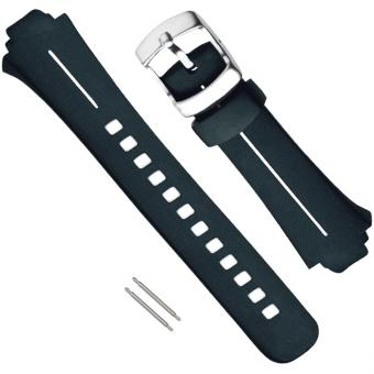 Suunto X6HR Armband-Set Elastomer schwarz weiß