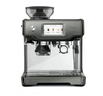 Sage the Barista Touch Espresso-Maschine Smoked Hickory anthrazit