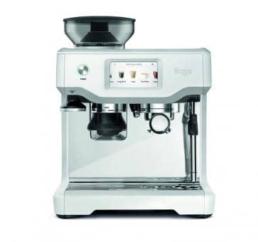 Sage the Barista Touch Espresso-Maschine Sea Salt matt weiß