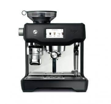 Sage the Oracle Touch Espresso-Maschine Black Truffle matt schwarz