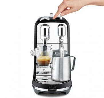 Sage The Creatista Plus Nespresso-Maschine Schwarz