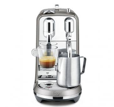 Sage The Creatista Plus Nespresso Maschine Anthrazit Wellango