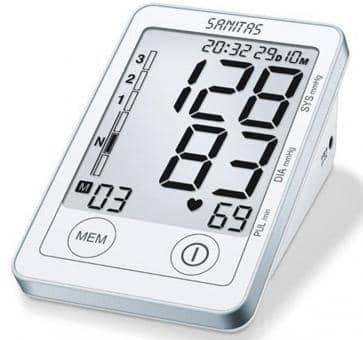 Versandrückläufer Sanitas SBM 45 Oberarm-Blutdruckmessgerät