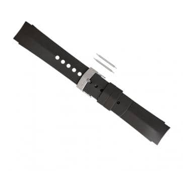 SUUNTO ELEMENTUM TERRA GRAY RUBBER Armband-Set
