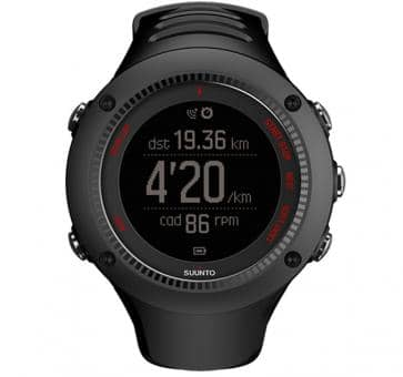 Suunto Ambit3 Run Black Armbandcomputer