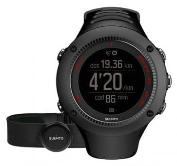 Versandrückläufer Suunto Ambit3 Run Black HR Armbandcomputer
