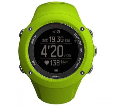 SUUNTO AMBIT3 RUN Lime Armbandcomputer