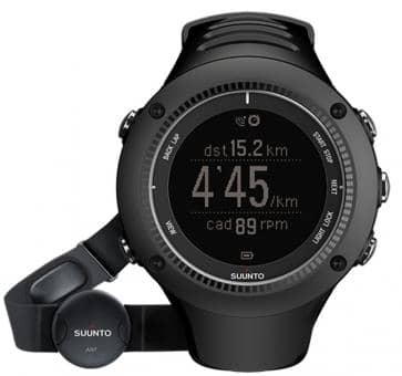 Suunto Ambit2 R Black (HR) Armbandcomputer