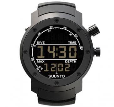Suunto Elementum Aqua Black Rubber Armbandcomputer