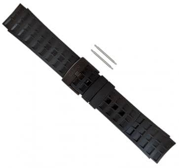 Suunto Elementum Terra All Black Rubber Armband-Set