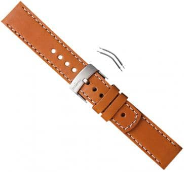 Suunto Elementum Terra/Ventus Brown Leather Armband-Set