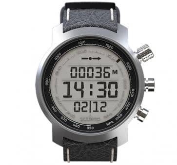Suunto Elementum Terra Black Leather Armbandcomputer