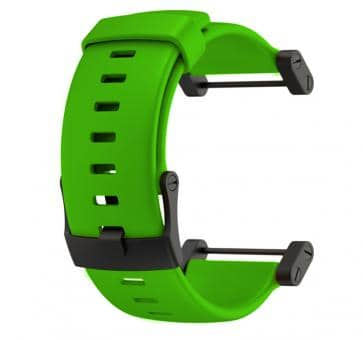 Suunto Core Crush Green Rubber Armband