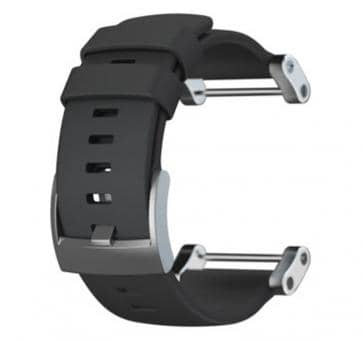 Suunto Core Flat Black Rubber Armband