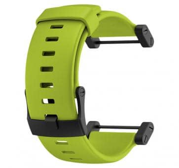 Suunto Core Crush Lime Flat Rubber Armband